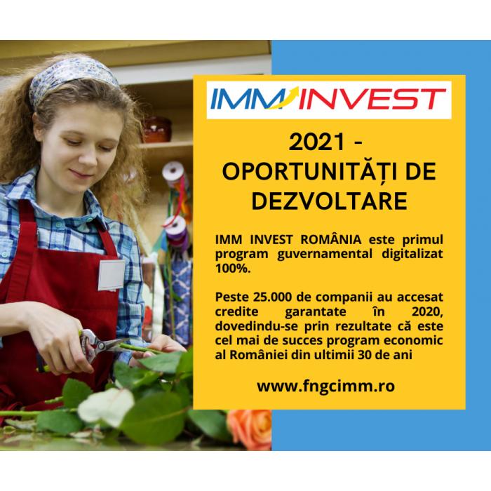 Programul IMM Invest si subprogramul Agro IMM Invest au fost prelungite pana la 31.12.2021