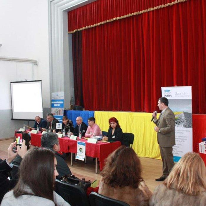 """Roadshow: Solutii pentru garantarea finantarilor in mediul rural """"IMPREUNA DEZVOLTAM SATUL ROMANESC"""" - Peretu"""