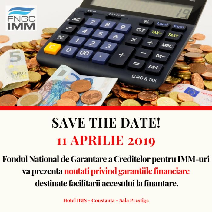 FNGCIMM va prezenta intreprinzatorilor constanteni noutati privind garantiile destinate facilitarii accesului la finantare.