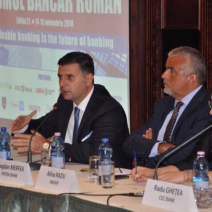 Forumul Bancar Roman –  Viitorul banking-ului si solutii pentru o dezvoltare sustenabila a acestuia