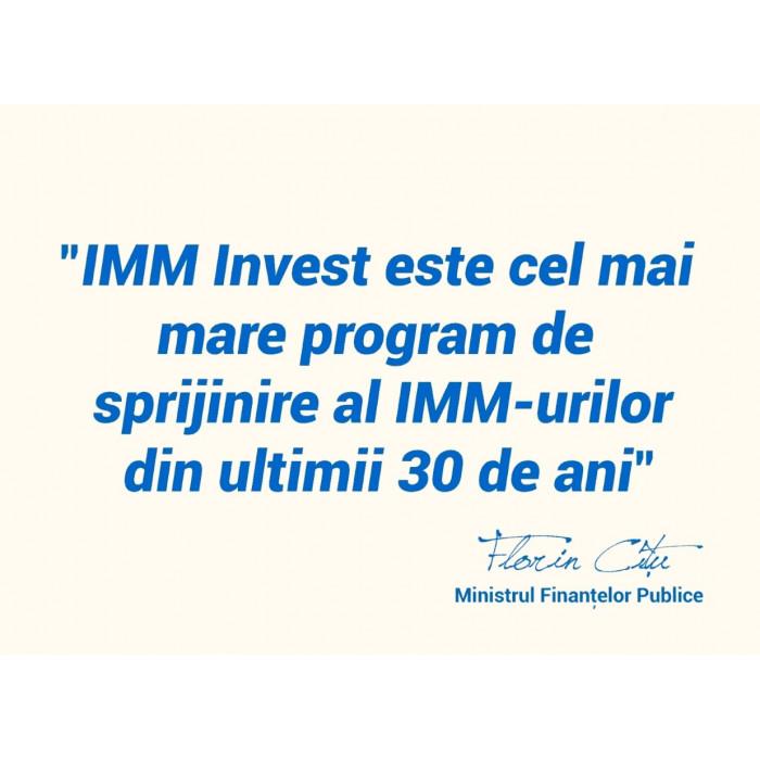 Aplicatia pentru inscrierea in Programul IMM INVEST Romania va fi deschisa pentru IMM-uri in data de 28.04.2020, ora 9.00